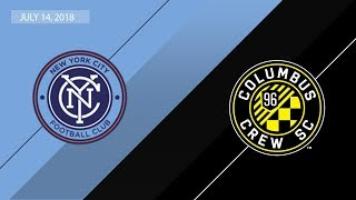 HIGHLIGHTS: New York City FC vs. Columbus Crew SC | July 14, 2018