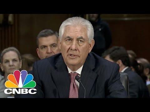Rex Tillerson: Would Not Describe Vladimir Putin As 'War Criminal' | CNBC