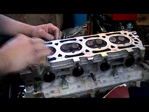 ROVER 45 HEAD GASKIT REPAIR.mpg