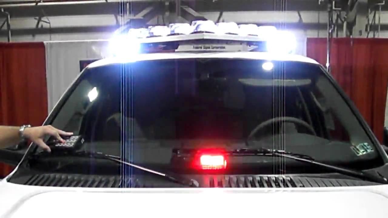 New federal signal vision slr led lightbar v shaped light bar new federal signal vision slr led lightbar v shaped light bar youtube aloadofball Choice Image