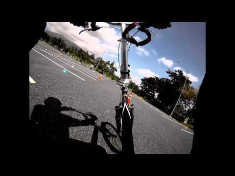 Maejo Racing Team formula student 2012 ( Driving test ) @ Royal Park Ratchaphruek