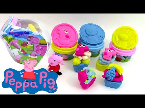 peppa pig oeuf surprise jouets p te modeler clay buddies. Black Bedroom Furniture Sets. Home Design Ideas