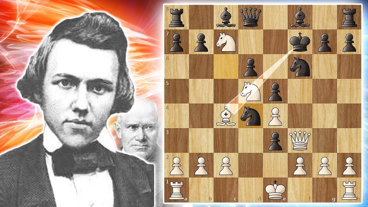Download One of The Greatest Chess Games Ever Played - Morphy vs Anderssen 1858 (game 9)