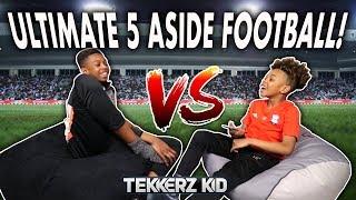 Tekkerz Kid vs Bro!   ULTIMATE 5-A-SIDE FOOTBALL!