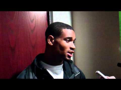 Darius Slay Post-Practice Interview - 10/9/12