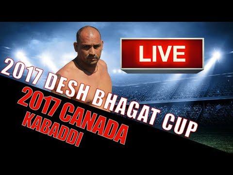 LIVE - 2017 Desh Bhagat Cup - Canada Kabaddi