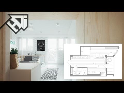 Small Home Design Inspiration Under 50 Square Meters - HOME DESIGN ideas
