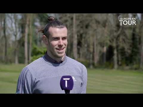 Gareth Bale's golf swing and why he loves golf...