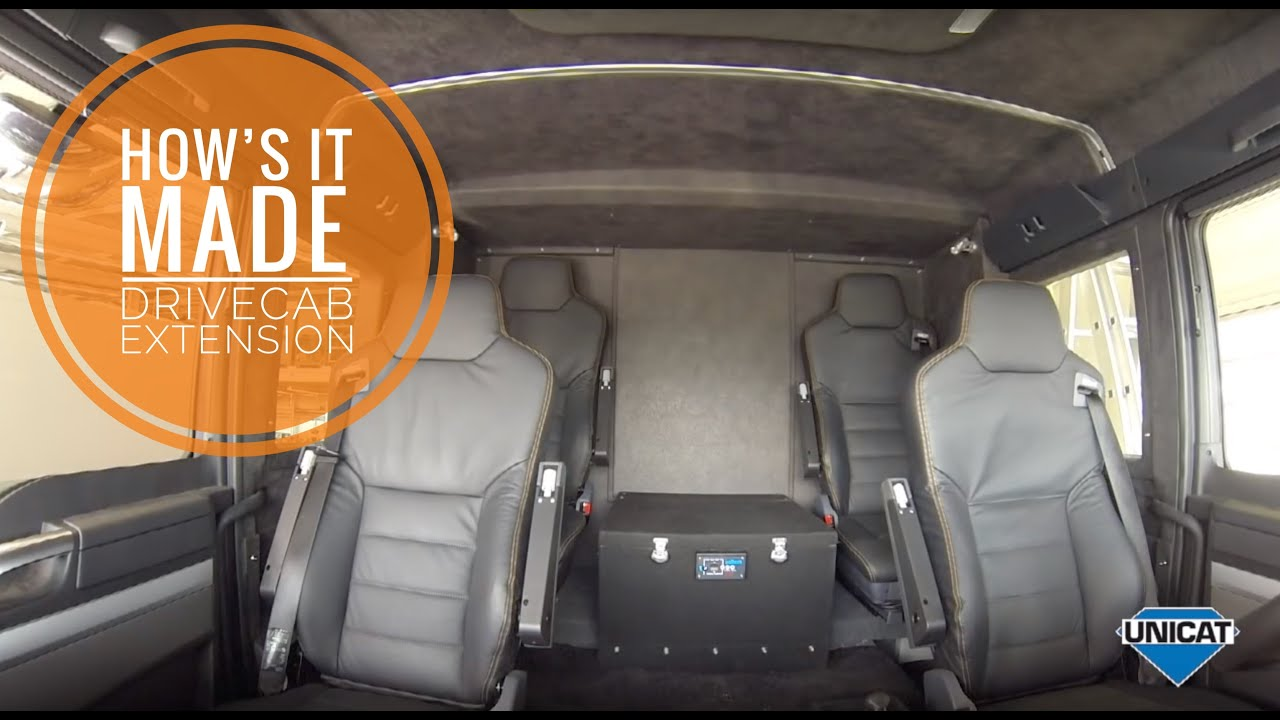 UNICAT Expedition Vehicles - Drivecab Extension for all MAN TGM ...