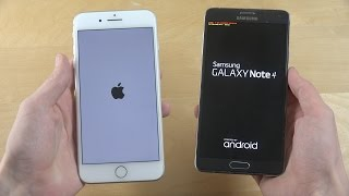 iPhone 7 Plus vs. Samsung Galaxy Note 4 Android 7.1 ROM - Which Is Faster?
