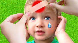 Canción Boo Boo + otras Canciones infantiles con Katya y Dima #2