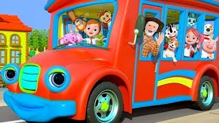 Wheels On The Bus | More Nursery Rhymes & Kids Songs by Little Treehouse Video