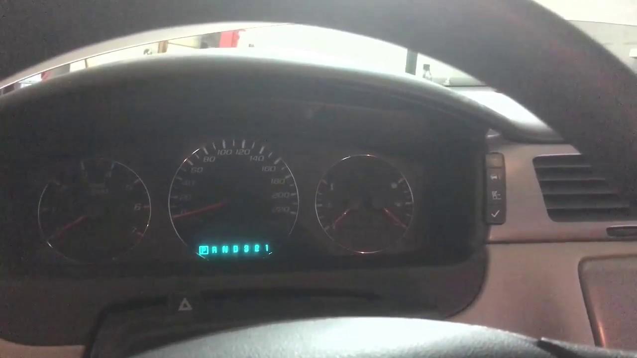 07 Impala Ignition Not Turning Off Key Stuck