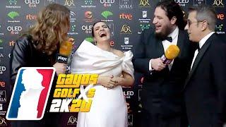 SILVIA ABRIL en los Goyas 2020: ¡Dulceida lleva el mismo vestido que yo! | GAYOS GOLFXS
