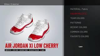 NBA 2K19 Shoe Creator - Air Jordan 11 Low