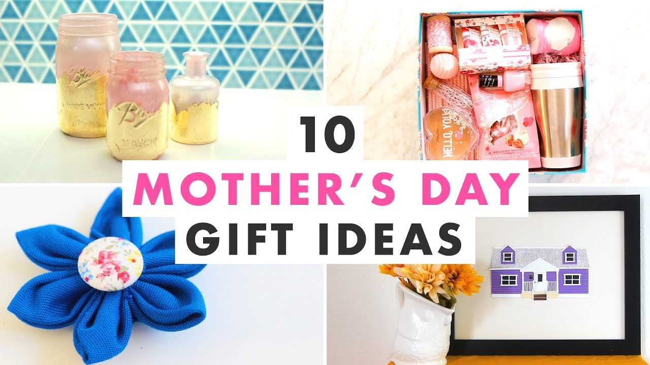 10 Diy Mother S Day Gifts She Ll Love Hgtv Handmade Youtube