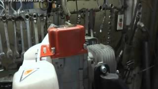 Изготовление глушителя для лодочного мотора Carver MHT-3.8S