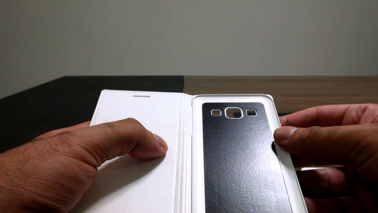 review flip cover samsung galaxy a3 youtube. Black Bedroom Furniture Sets. Home Design Ideas