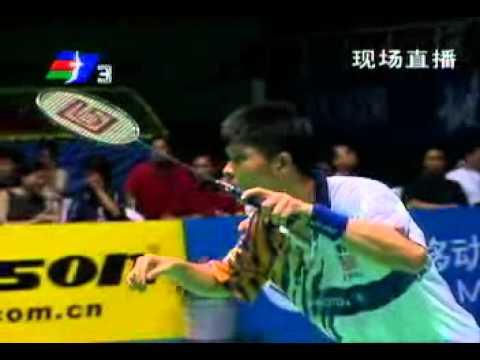 Badminton 2001 China Open Mens Singles Semi Final - Wong Choong Hann vs. Guo Jianhua