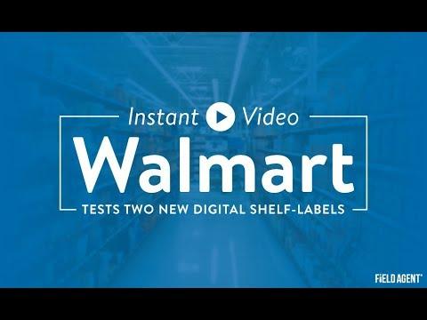 Inside Look: Walmart's Digital Shelf-Labels