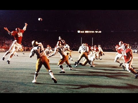 1973 Sugar Bowl #1 Alabama vs #3 Notre Dame No Huddle - YouTube