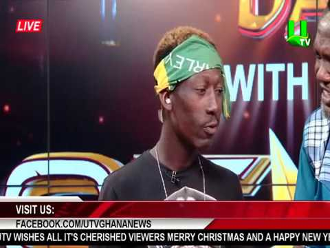 Supa (Ghana 2Pac) reads Sports News on UTV
