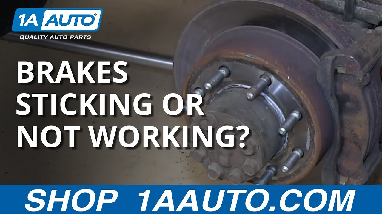 Brakes too Sticky or Not Working on your Truck? - YouTube