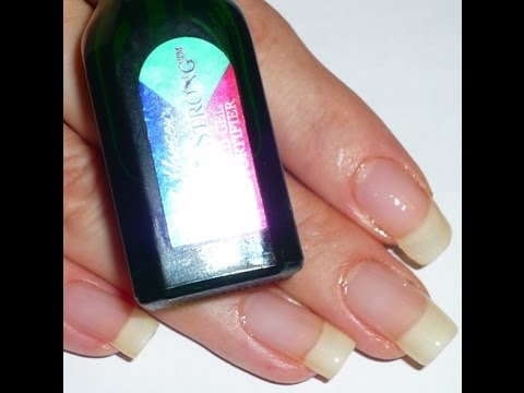 Apply Nail Hardeners and Strengtheners the right way - YouTube