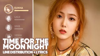 GFRIEND - Time For The Moon Night (Line Distribution+Lyrics Color Coded) PATREON REQUESTED