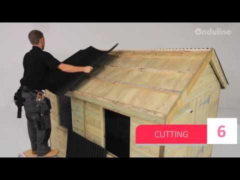 Made By Me How To Install Onduline Mini 18 Roofing Step By Step Youtube
