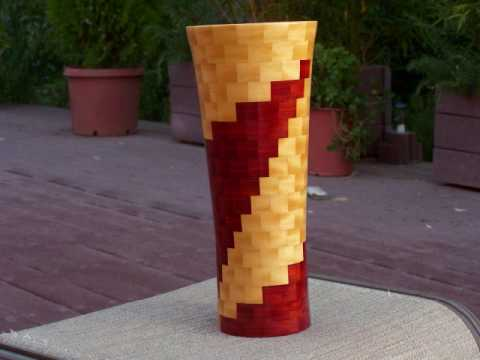 segmented and solid wood turning by Neil Davis