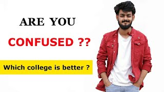 How to choose a perfect college - Delhi University Admissions | Tal Entertainer