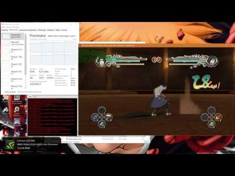 Rpcs3 DX12 LLVM - Naruto S : UNS Gen  - GamePlay ~30 fps
