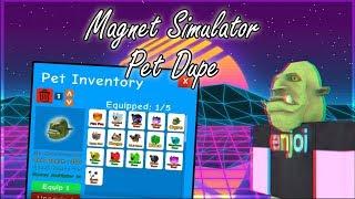 Roblox: Magnet Simulator PET DUPE SCRIPT Y MAS