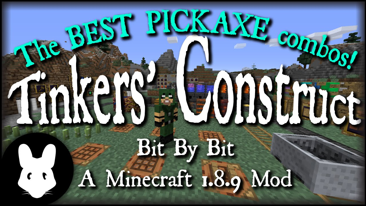 Tinkers' Construct 2 - Tinkers' Combos - Best Hammer for early and late  game!