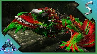 XMAS DRAKE! DRAKE HATCHING AND RAISING! STEALING DRAKE EGGS! - Ark: Aberration [DLC Gameplay E29]