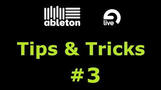 Midi Mapping, Re-enable Automation & More (Ableton Tips & Tricks #3)