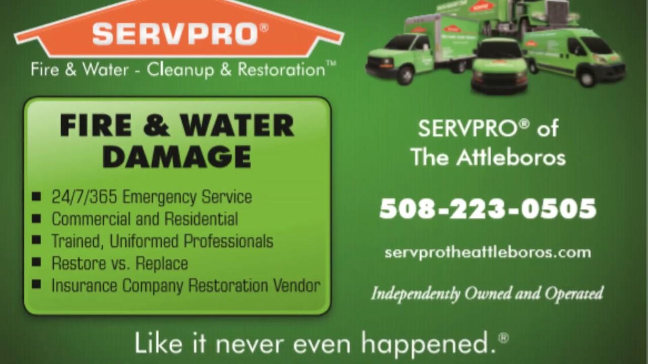 North Attleboro, MA Water Damage Restoration | SERVPRO of