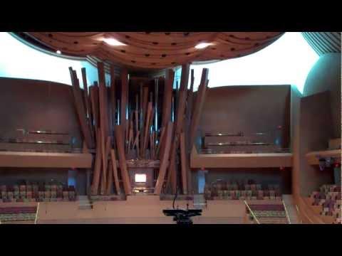 Disney Concert Hall - Organ Practice