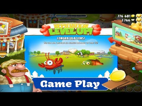 hay-day-gameplay---derby,-valley,-town,-level-up