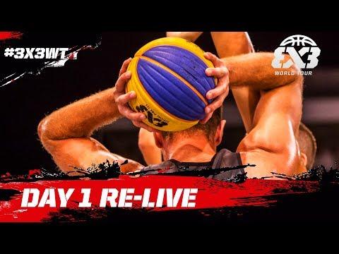 RE-LIVE - FIBA 3x3 World Tour Debrecen Masters 2017 - Day 1 - Debrecen, Hungary