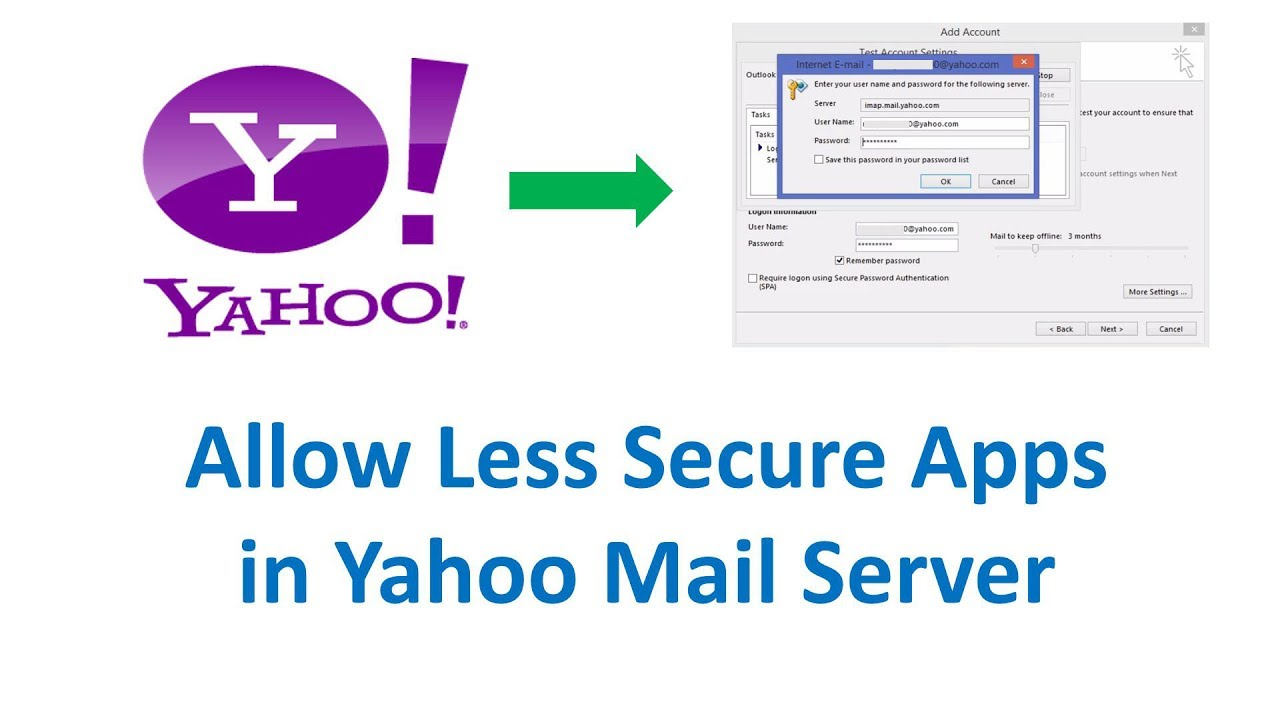 how to create app password for yahoo mail