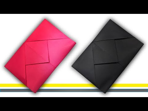 How To Make Paper Envelope Easy Step By Step | Popular Craft | Diy Craft Paper Envelope Easy