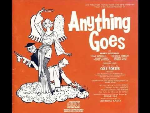 Anything Goes - Eileen Rodgers & Ensemble (Anything Goes, 1962 - Revival) Cole Porter