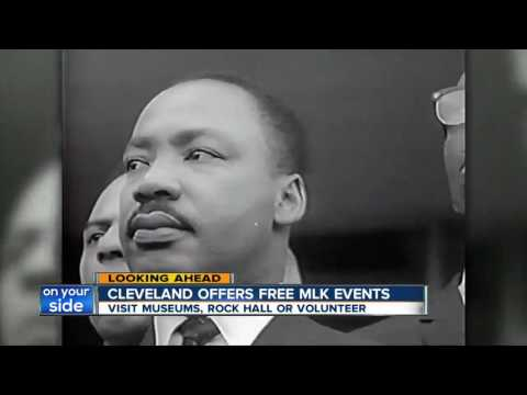 Free events in Cleveland for Martin Luther King Jr. Day