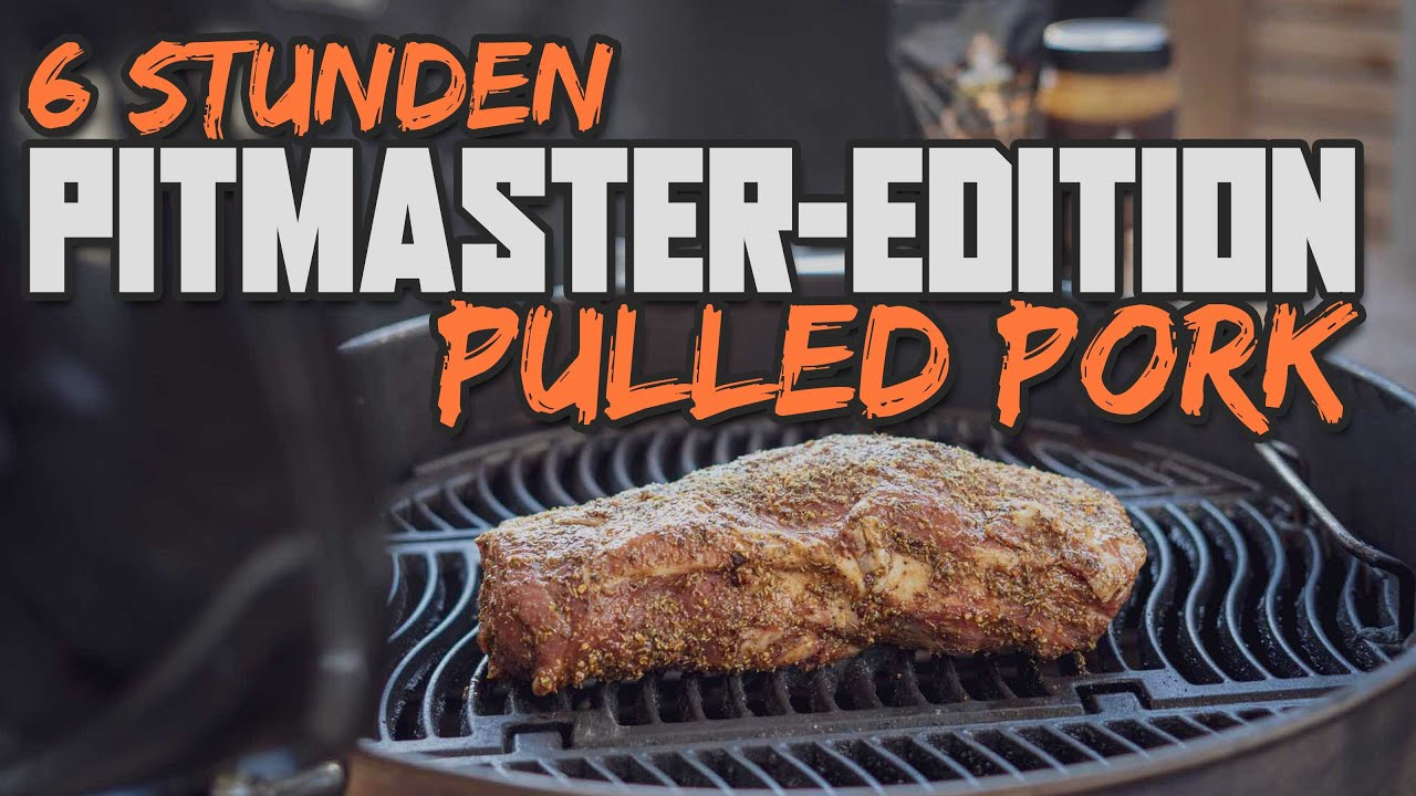 Pulled Pork Texas Style vom Holzkohlegrill | Die Pitmaster Edition
