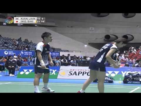 QF - XD - Kang J.W./Jang Y.N. vs S.Ikeda/R.Shiota - 2012 Yonex Open Japan