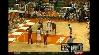 Tennessee Beats Texas in Overtime - 2006-2007 (2nd Half and Overtime)