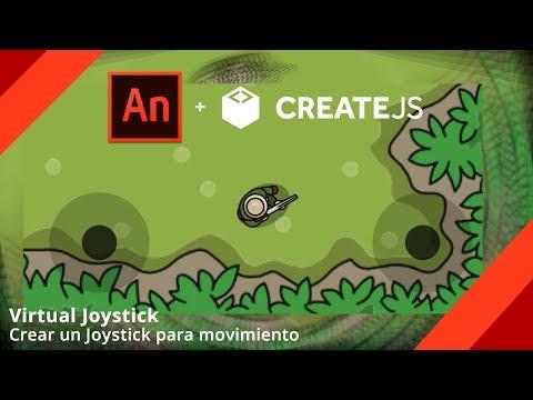 Joystick  Virtual - Adobe Animate (HTML 5)