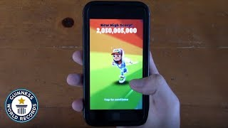 Subway Surfers OFFICIAL WORLD RECORD - 2,050,005,000 points screenshot 4